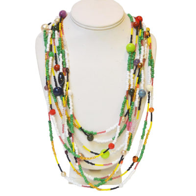 9 strands necklace by Laurie Maguire