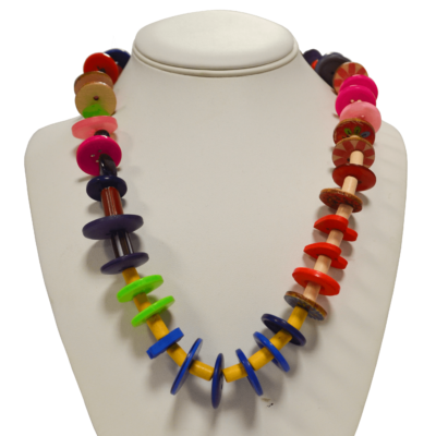 Colorful Necklace by Lucy Watkins