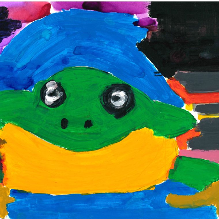 Frog by Lucy Watkins