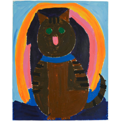 Untitled (cat) by Lucy Watkins