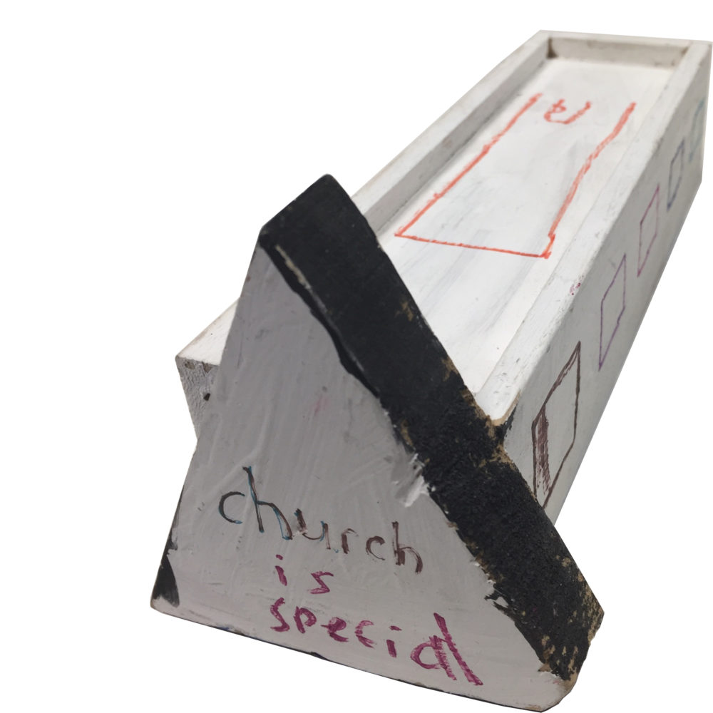 Church is special sculpture by Lyubov Rozenfeld