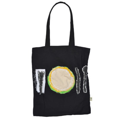 Tableware tote bag by Lyubov Rozenfeld