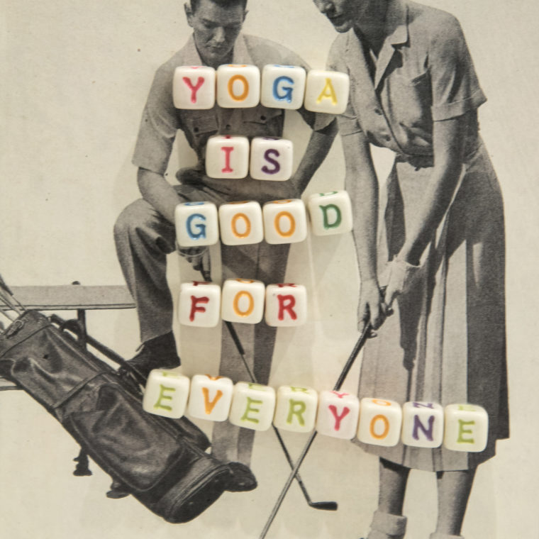 Yoga Is Good for Everyone by Lyubov Rozenfeld
