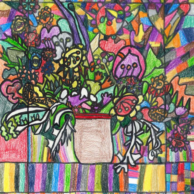 2016 Spring drawing by Laurie Maguire
