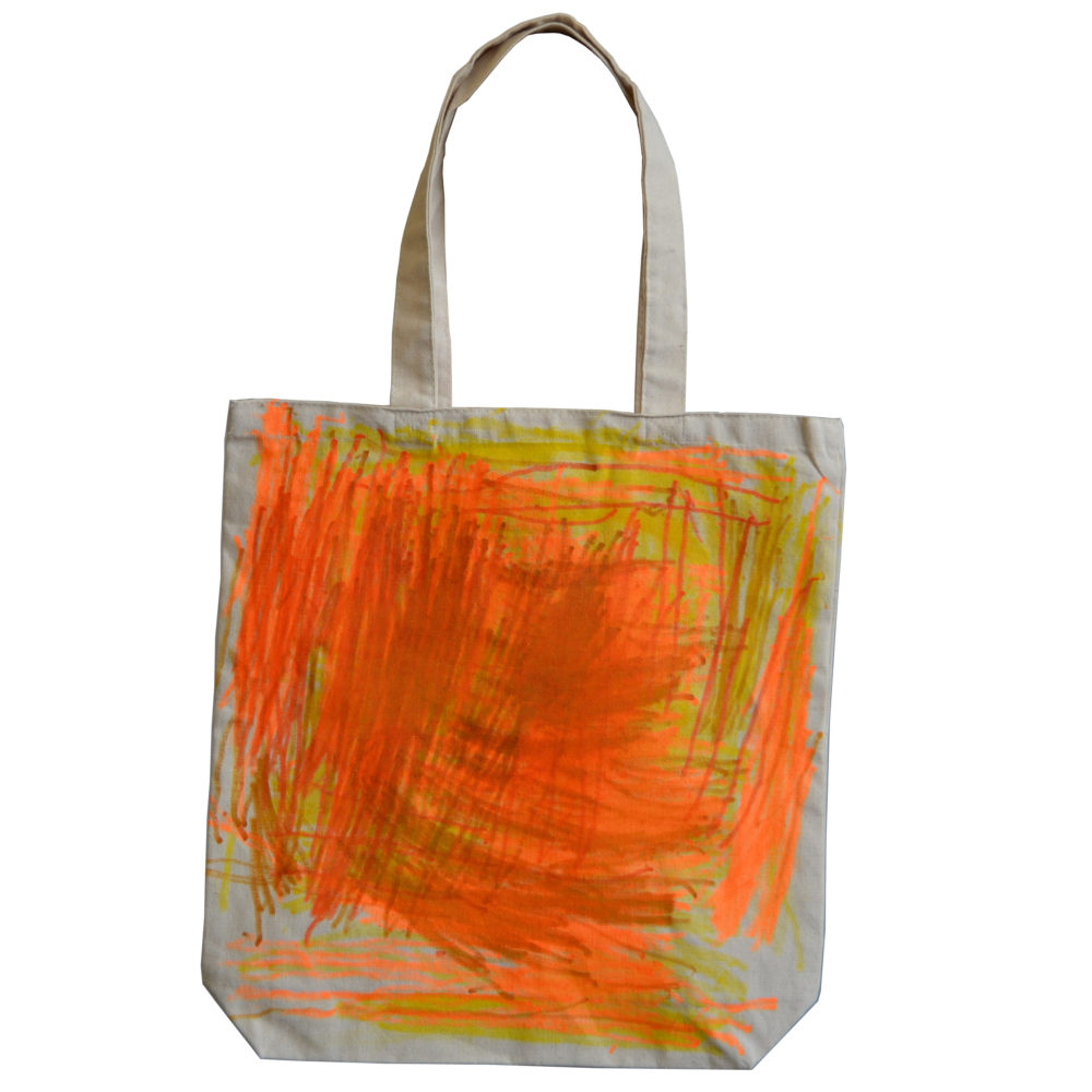 Abstract tote by Maria Field