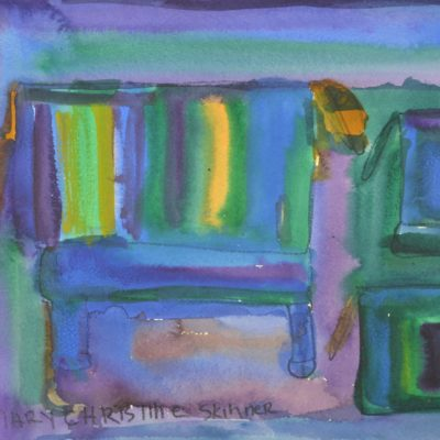 Untitled (purple) by Mary Skinner