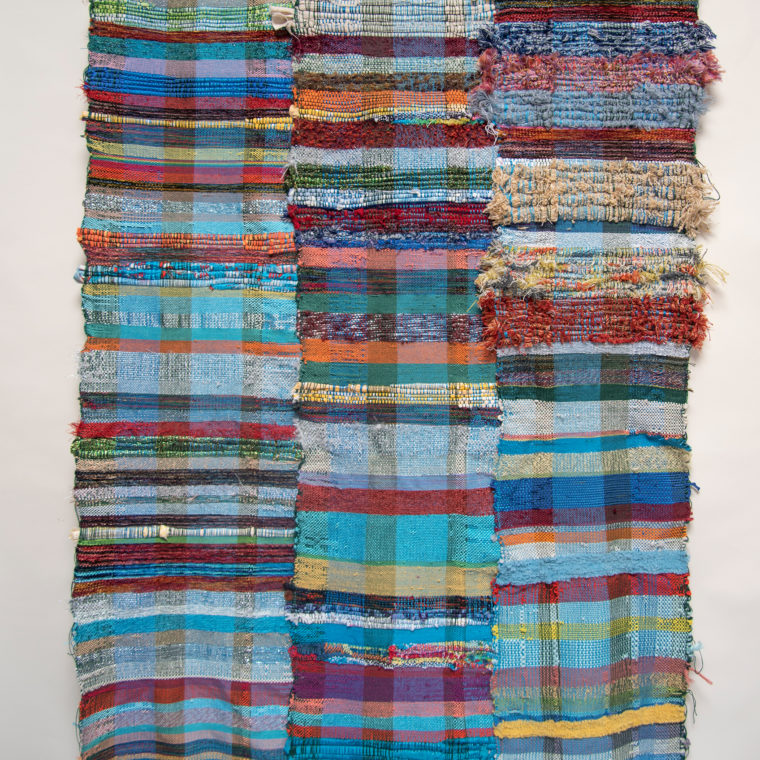 Untitled weaving by Melissa Berman