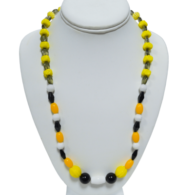 Yellow necklace by Melissa Berman