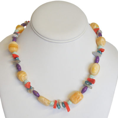 For the beach necklace by Melissa Berman