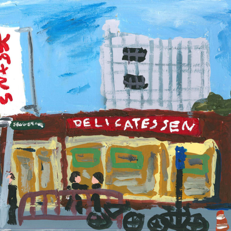 Katz's Delicatessen by Meridith Goldman