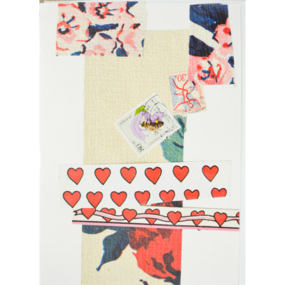 Valentine's collage card by Molly Piper