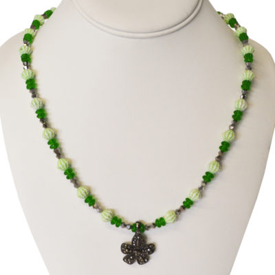St. Paddy's Day necklace by Nina Aronson
