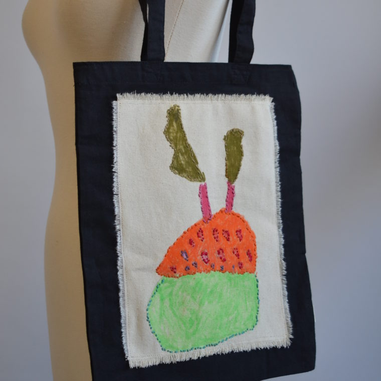 Cupcake tote bag by Nina Aronson