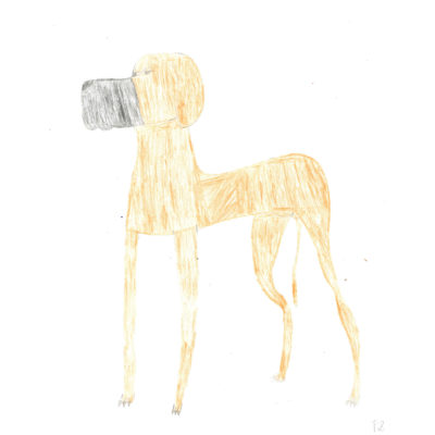 Untitled dog by Parker Stallworth