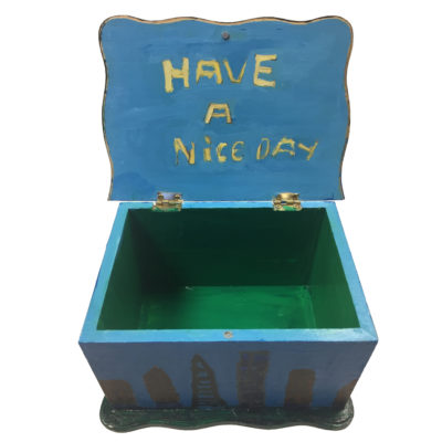 Have a nice day City box by Patrick Shea