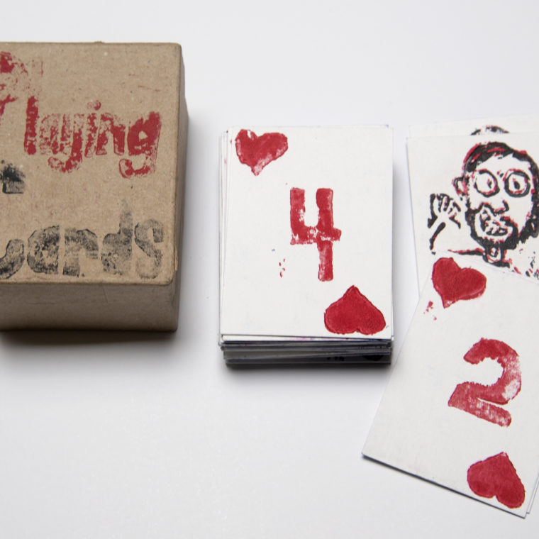 Untitled playing cards by Paul Eno
