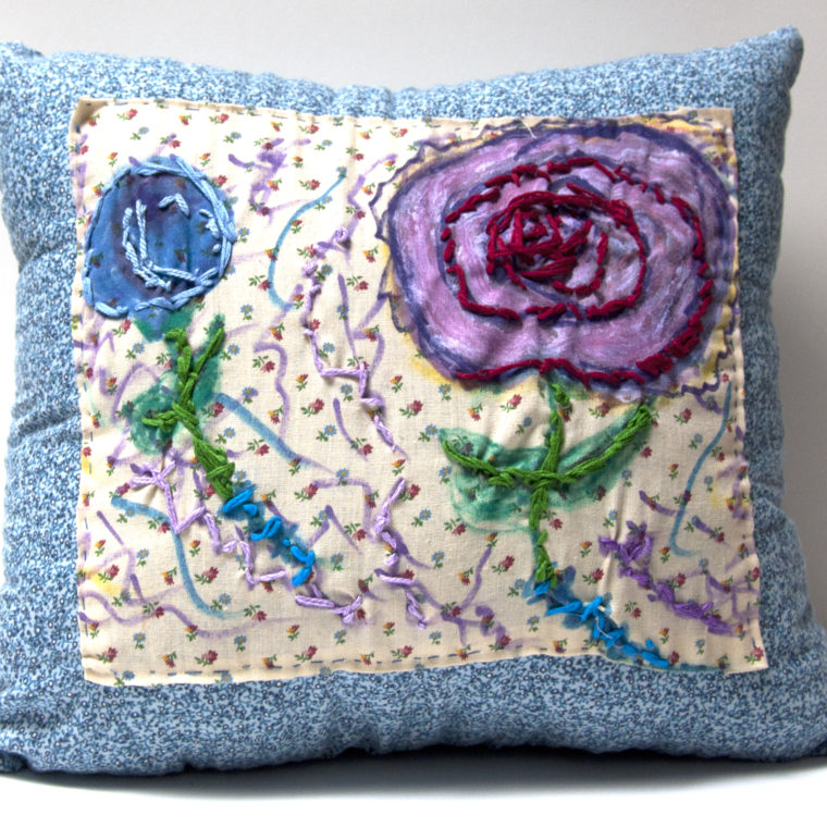 Pillow by Mary Galgay