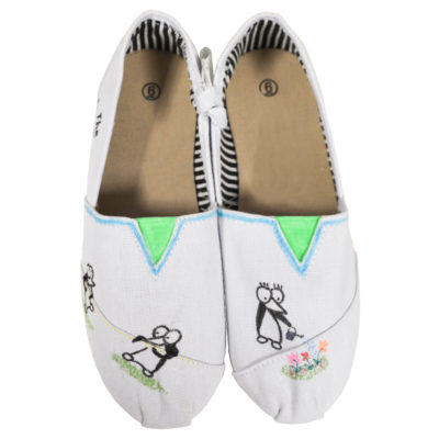 The Guins canvas shoes