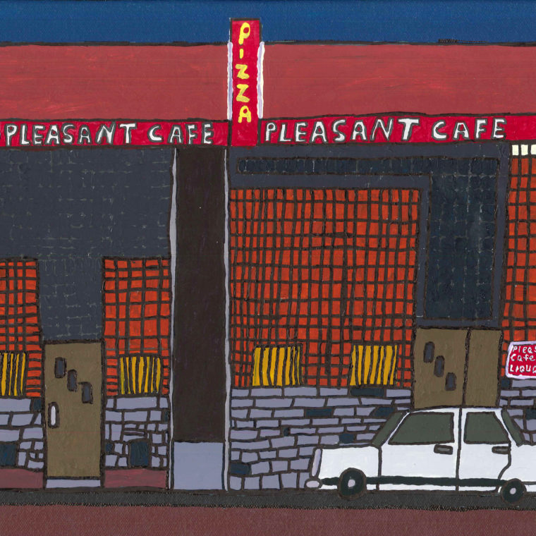 Brenda Sepulveda. Pleasant Cafe (Summer series). 2014.