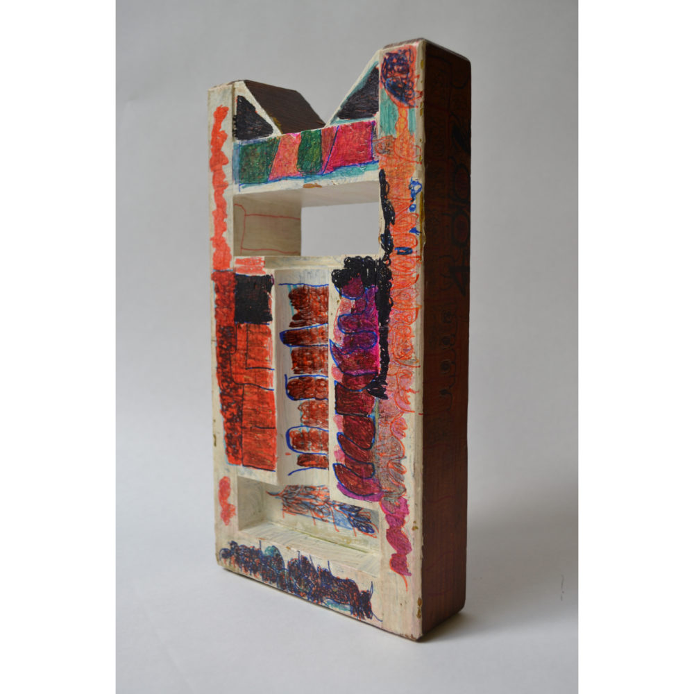 Untitled found object sculpture by Sidney Perry