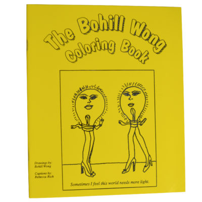 The Bohill Wong coloring book