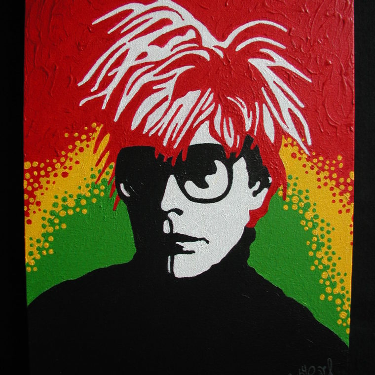 Andy Warhol by Ruby Pearl