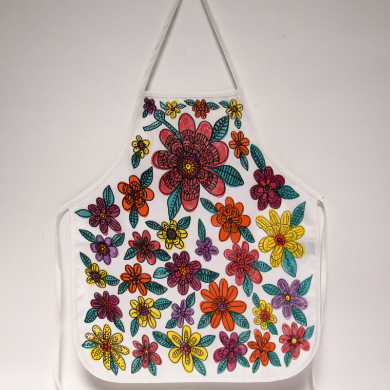 Blooming Apron by Robin Jones