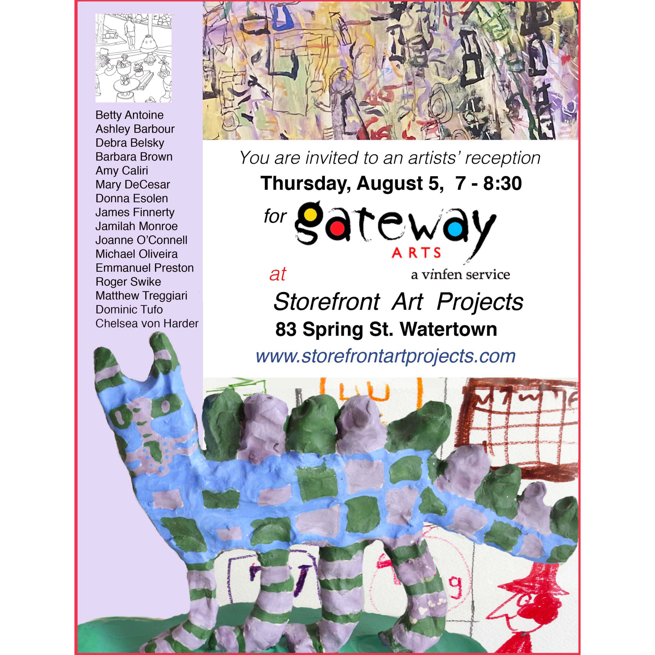 Artists' Reception for A Gateway Arts Collection at Storefront Art Projects @ Storefront Art Projects