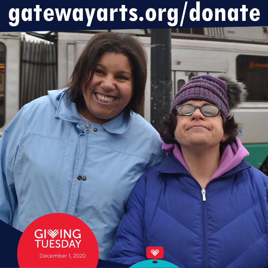 Giving Tuesday @ gatewayarts.org/donate