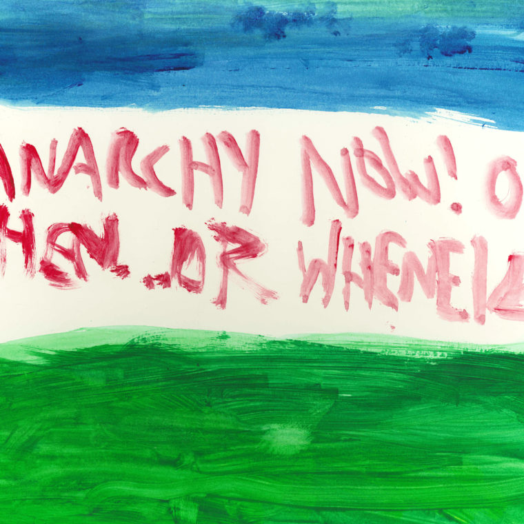 Jay Nugent. Anarchy Now! Watercolor on paper. Date unknown.