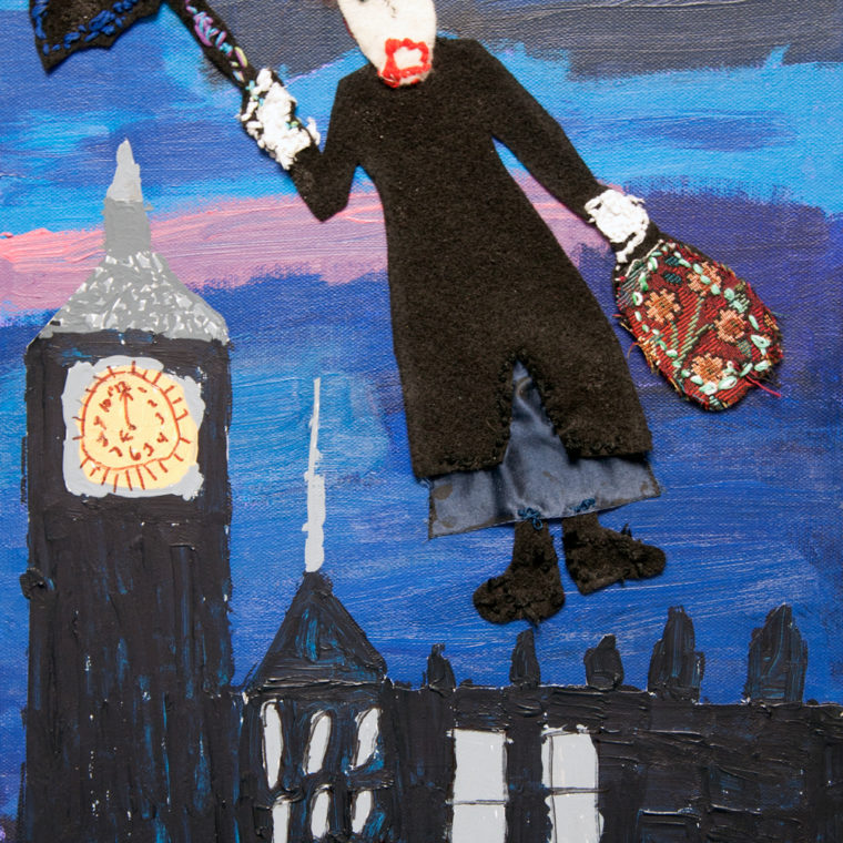 Mary Poppins by Lyubov Rozenfeld